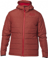 FOX JACKET BISHOP RD BORDEAUX RED